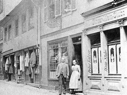 """Historische Aufnahme: """"Der Eimer"""" im Jahr 1890"""