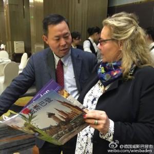 .Im Gespräch mit Gao Yangxian vom Tourismus-Büro der Provinz Hunan