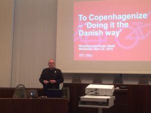 Klaus Bondam will mehr Menschen zum Radeln bringen. In Kopenhagen hat er das schon geschafft
