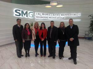 Zu Besuch bei der Shanghai Media Group