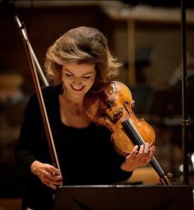 Anne-Sophie Mutter kommt nach Wiesbaden. Foto: Harald Hoffmann/Deutsche Grammophon