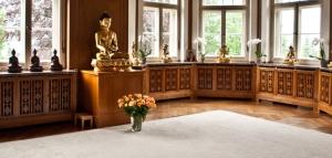 Das Buddhistische Zentrum in der Grillparzerstraße. Foto: buddhismus-wiesbaden.de