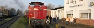 Ausfahrt gefällig? Die Nassauische Touristikbahn am Bahnhof Wiesbaden-Dotzheim wartet. Foto: www.nassauische-touristik-bahn.de