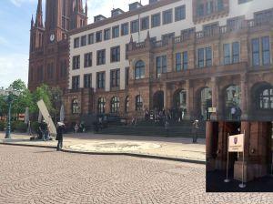 """Für den Dreh zur TV-Serie """"Der Staatsanwalt"""" wurde das Rathaus zur Staatsanwaltschaft umfunktioniert"""
