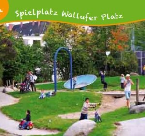 Der Spielplatz Wallufer Platz bleibt am Samstag geschlossen. Foto: Stadt Wiesbaden