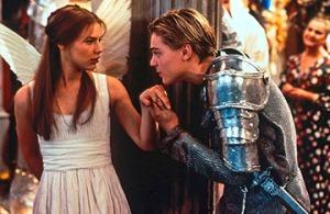 """Heute Abend im Caligari: Der Film """"William Shakespeares Romeo & Julia mit Claire Danes und Leonardo DiCaprio. Foto: Fox"""