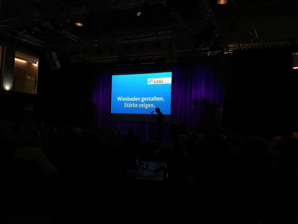 Der neue Wahlkampf-Slogan der CDU Wiesbaden für die Kommunalwahl 2016