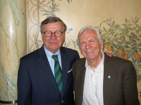 Topfit: Karl Nüser (l.), Dieter Kürten