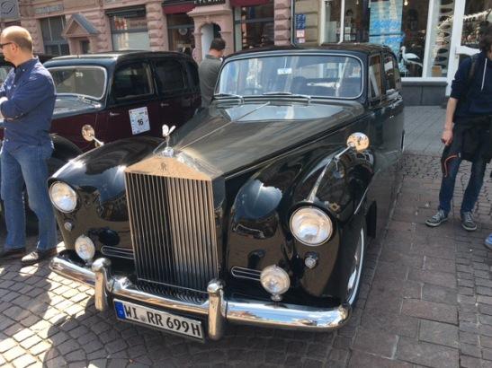 Begehrt: Rolls Royce Silver Cloud Baujahr 1957 mit 160 PS