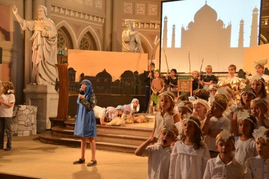 """Kindermusical """"Joseph"""" in der Marktkirche. Foto: Andrea Wagenknecht"""