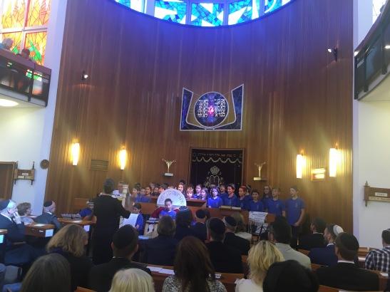 Schwungvoll: Der Chor der Isaak-Emil-Lichtigfeld-Schule